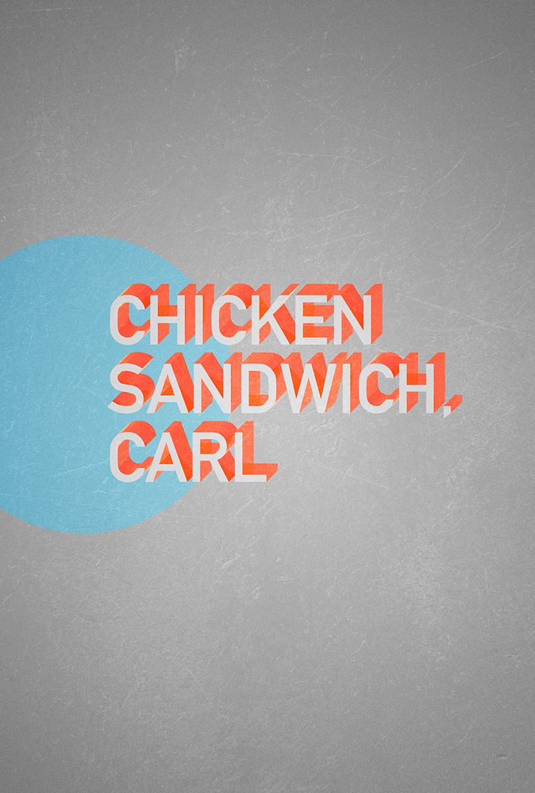 20140128 - Chicken Sandwich Carl